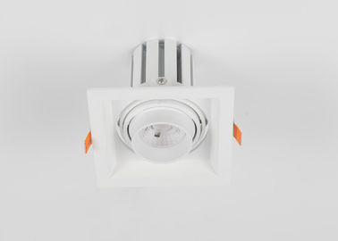 China 10W Aluminiumgrill Downlight des quadrat-LED mit einem Haupt-AC85 - 265V usine